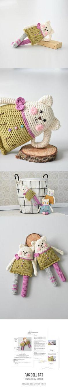 Mejores 2482 imágenes de Amigurumi en Pinterest en 2018 | Crochet ...