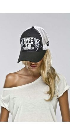 Casquette de capucine - Les Anges 5 - Hype is my religion - Black Religion 2f26a5a7db00