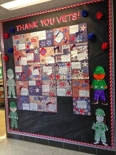 Today, is Veterans Day and I'm so thankful for those who have served and are still serving our country today. At my school we have a pretty . 4th Grade Writing, School Displays, Service Learning, American Pride, Elementary Education, Veterans Day, Art Club, Teaching Reading, Display Case
