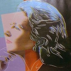 Ingrid Bergman (as Herself), 1983-Andy Warhol - by style - Pop Art