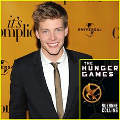 I think Hunter Parrish would make an AWESOME Finnick. Oh my goodness. PLEASEPLEASEPLEASE!