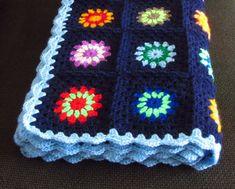 Crochet Baby Blanket Stroller Blanket 35x43 by PhoenixSmiles
