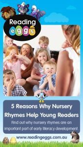 Nursery Rhymes are a fun way that children can develop key literacy skills including phonemic awareness, vocabulary, fluency and comprehension.