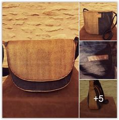 Besace Musette cousu