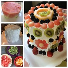 Watermelon Cake I made for my mother!
