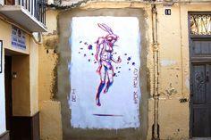 Deih paints a new piece on Cañete Street in Valencia, Spain | StreetArtNews