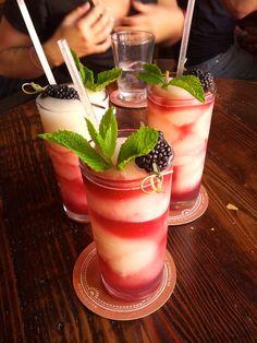 My dream drink of the week a margarita sangria swirl