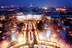 The first Christmas markets ever held in Europe took place in Vienna in 1298.