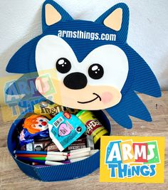 Sonic Party, Topper, Craft Bags, Washi, Ideas Para, Paper Crafts, Packaging, Baby Shower, Projects