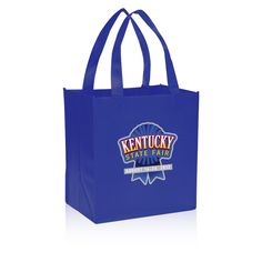 Printed Non-Woven Tote Bags | Grocery Value Non-Woven Tote Bags 12x13
