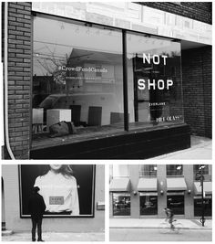 We've popped up all over Toronto. Join us at our Not A Shop at the Milk Glass Co. and find our storefront takeovers at:     88 Yorkville Avenue     1 Carlton Street     More information here.