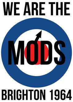 We are the Mods - Brighton 1964 Vespa Illustration, Mod Scooter, Lambretta Scooter, Mod Look, Mod Girl, Swinging London, 60s Mod, Northern Soul, Best Dad
