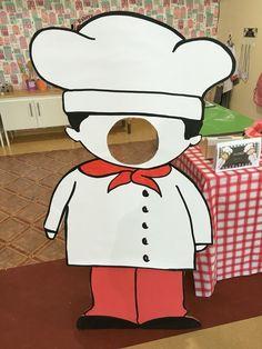 mr baker hole face for little kids