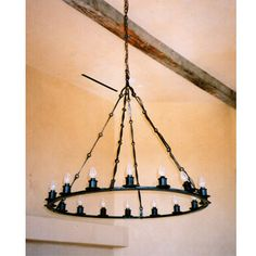 Mexican iron chandeliers