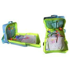 Botetrade Bambino Car Seat vassoio multifunzione pittura della scuola dei bambini sacchetti blu