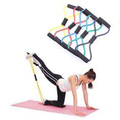 Mini Résistance Exercice Bande Boucle 4 Force Pack Yoga Pilates Rehab Physiothérapie