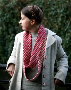 scarf and coat, kate davies designs <3