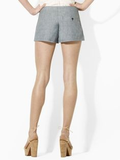 Denim Short - Blue Label Shorts - RalphLauren.com    SOMEONE GET ME THESE AND I'LL LOVE YOU FOREVER