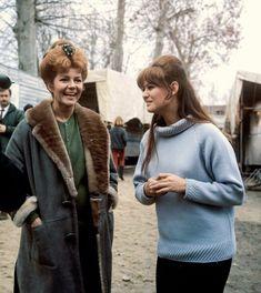 Rita Haywort e Claudia Cardinale