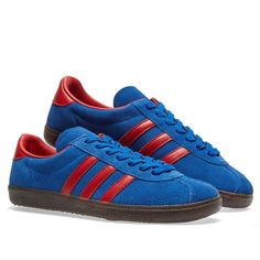 ca2dd4ea06f1 Adidas SPZL Spiritus (Collegiate Navy   Scarlet)   END. Mens Fashion Blog,