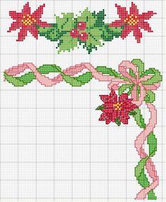 Brilliant Cross Stitch Embroidery Tips Ideas. Mesmerizing Cross Stitch Embroidery Tips Ideas. Xmas Cross Stitch, Cross Stitch Cards, Cross Stitch Borders, Cross Stitch Flowers, Cross Stitching, Cross Stitch Embroidery, Cross Stitch Patterns, Christmas Poinsettia, Christmas Cross