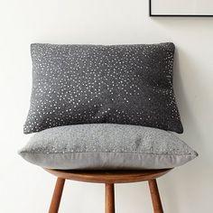 Sequins Felt Pillow Cover #WestElm