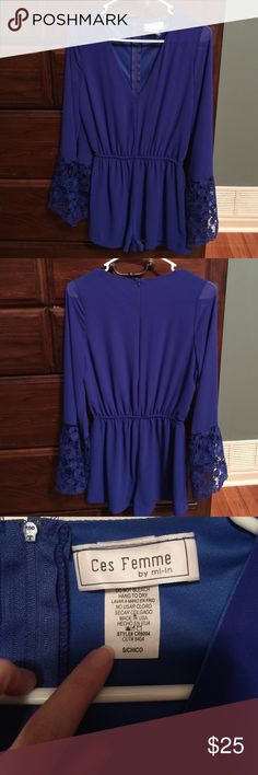 Ces Femme by mi-in romper IN EXCELLENT CONDITION!!! No rips tears, or stains!!! Comes from a smoke free home! Worn once! Other