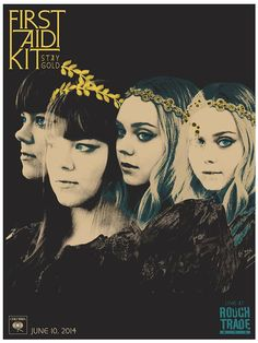 First Aid Kit / Stay Gold - live at Rough Trade NYC 2014