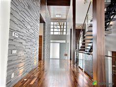Entrée Garage Double, Stairs, House Design, Contemporary, Architecture, Room, Home Decor, Home Ideas, Contemporary Home Design