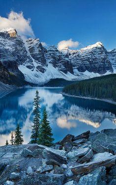 Valley of Ten Peaks, Alberta, Canada
