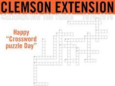 Happy Crossword Puzzle Day! #ClemsonExt100