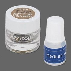 Art Clay�, 22Kt gold, paste. Sold per 1.5gm jar with medium compound.