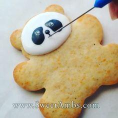 Узор на печенье, мастер класс #техника_оформления_торта#видео_уроки#узор_на_печенье#капкейки