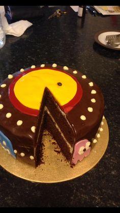Pac-Man Birthday Cake