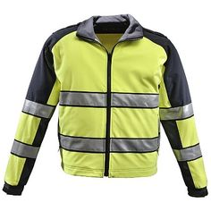 Gerber Outerwear: Sigma Two Tone Soft Shell Liner Jacket, ANSI 107 Class 3 High Vis #theEMSstore