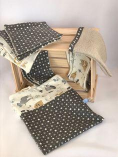 Voici ce que je viens d'ajouter dans ma boutique #etsy : kit coffret naissance zéro déchet pour débuter. 4 lingetttes maxi, 6 lingettes Classic, 1 petit Gant de toilette et 1 sac de transport. https://etsy.me/2ImcZXo #enfants #accessoires #gris #bapteme #fetedesmeres #