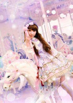 #SweetLolita #LolitaMode #LolitaStyle #LolitaFashion #JapaneseMode #Girl #Cute #Kawaii #Dress #Pastel