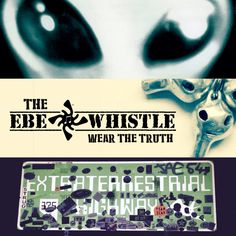Wear the Truth - and play it too! The eyes of the EBE Whistle are different notes!