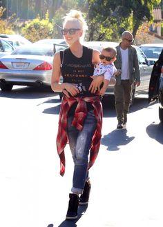Gwen Stefani and cute son Apollo