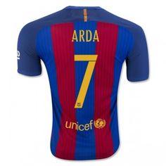 Barcelona 16-17 Arda Turan 7 Hemmatröja Kortärmad  #Fotbollströjor