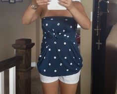 Learn how to turn your LuLaRoe Irma into a strapless top!! Isn't it cute? http://buylularoeonline.com/lularoe-irma-strapless-dress/