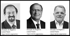 Curiosidade nas Eleições 2014: Aldo Demarchi e Reinaldo Alguz estão com tudo e pouca prosa