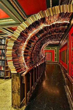 I gotta visit this place...Over 100,000 $1 used books! The Last Bookstore, Los Angeles CA thelastbookstore.com