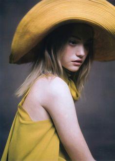 Gemma Ward for Hermes