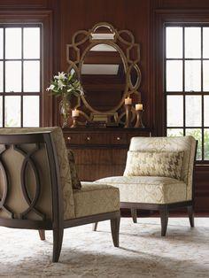 Superior Lexington Home Brands St Tropez, Montaigne Armless Chair
