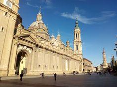 Nuestra querida Plaza del Pilar.