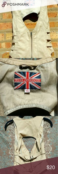 Selling this Faux leather vest on Poshmark! My username is: jessicatellez1. #shopmycloset #poshmark #fashion #shopping #style #forsale #Jackets & Blazers