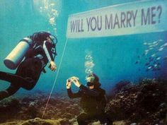Loving all these creative and unique proposal ideas! Best Proposals, Wedding Proposals, Marriage Proposals, Marriage Images, Wedding Receptions, Propositions Mariage, Got Married, Getting Married, Married Life