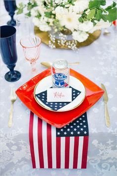 Instead of spending a fortune on favors, just add your fave brew to your tablescape.