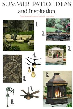Summer patio ideas a